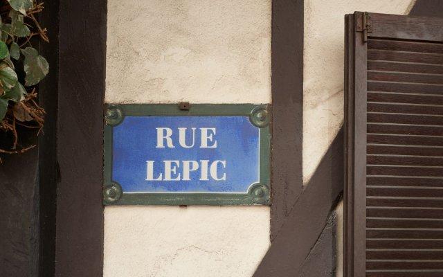 Отель Maison Lepic вид на фасад