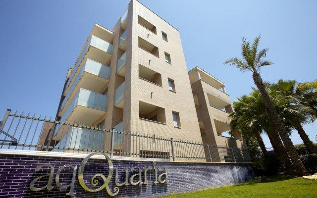 Отель Ibersol Residencial SPA Aqquaria вид на фасад
