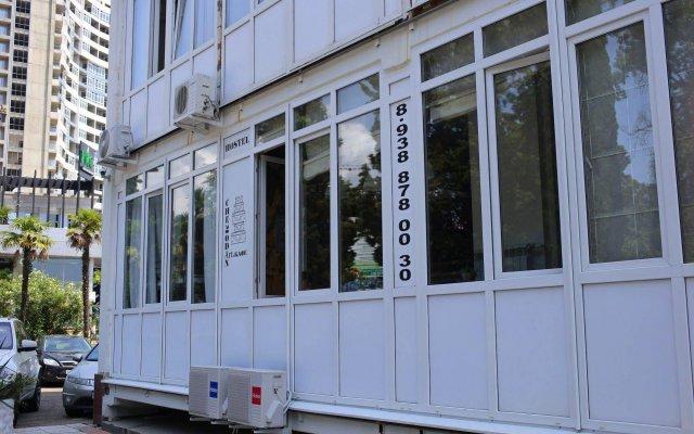 Гостиница Hostel Chemodan в Сочи отзывы, цены и фото номеров - забронировать гостиницу Hostel Chemodan онлайн вид на фасад