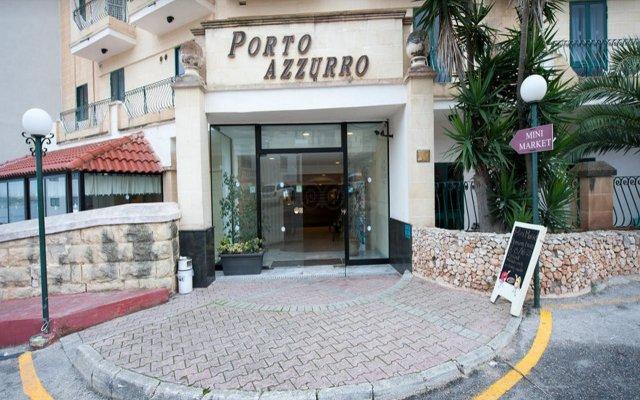 Отель Porto Azzurro Aparthotel вид на фасад