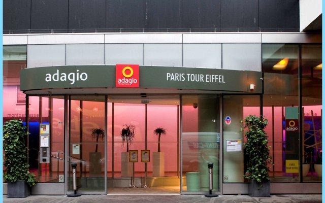 Отель Aparthotel Adagio Paris Centre Tour Eiffel вид на фасад