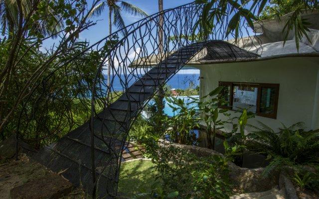 Отель Monkey Flower Villas Таиланд, Остров Тау - отзывы, цены и фото номеров - забронировать отель Monkey Flower Villas онлайн вид на фасад