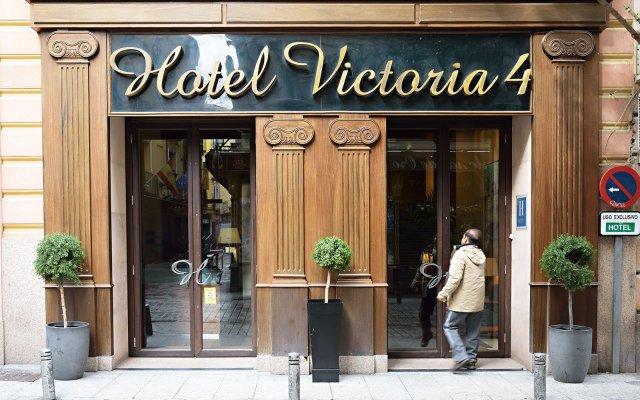 Hotel Victoria 4 вид на фасад