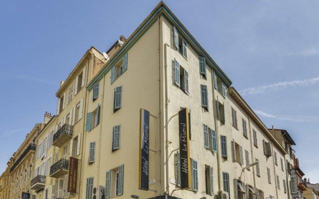 Отель Le Mistral Франция, Канны - отзывы, цены и фото номеров - забронировать отель Le Mistral онлайн вид на фасад