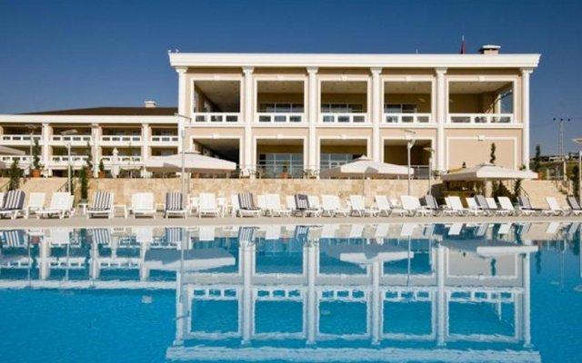 Fenerbahce Incek Hotel-Banquet-Sport Турция, Анкара - отзывы, цены и фото номеров - забронировать отель Fenerbahce Incek Hotel-Banquet-Sport онлайн вид на фасад