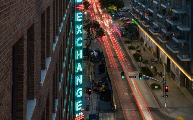 Отель Freehand Los Angeles США, Лос-Анджелес - отзывы, цены и фото номеров - забронировать отель Freehand Los Angeles онлайн вид на фасад