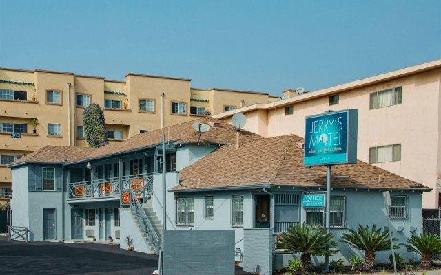 Отель Jerry's Motel США, Лос-Анджелес - отзывы, цены и фото номеров - забронировать отель Jerry's Motel онлайн вид на фасад