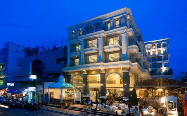 Отель LK The Empress Таиланд, Паттайя - 3 отзыва об отеле, цены и фото номеров - забронировать отель LK The Empress онлайн вид на фасад