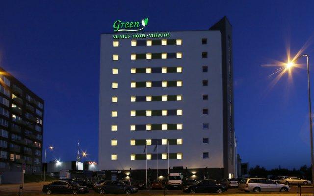 Green Vilnius Hotel вид на фасад