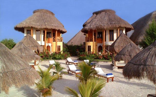 Отель Villas HM Paraíso del Mar Мексика, Остров Ольбокс - отзывы, цены и фото номеров - забронировать отель Villas HM Paraíso del Mar онлайн вид на фасад