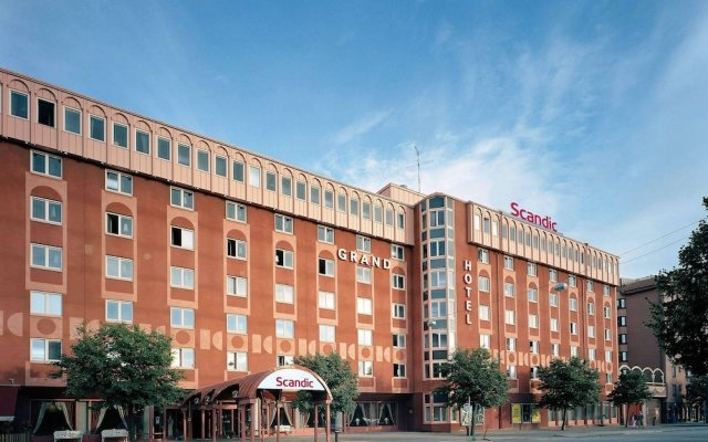 Отель Scandic Grand Hotel Швеция, Эребру - отзывы, цены и фото номеров - забронировать отель Scandic Grand Hotel онлайн вид на фасад