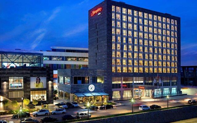 Hampton by Hilton Kocaeli Турция, Измит - отзывы, цены и фото номеров - забронировать отель Hampton by Hilton Kocaeli онлайн вид на фасад