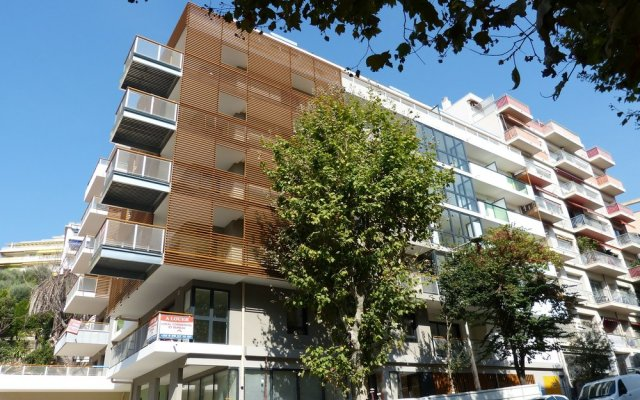Отель Nice Booking - Myriazur Moderne Balcon вид на фасад