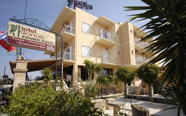 Отель Klonos - Kyriakos Klonos Греция, Эгина - отзывы, цены и фото номеров - забронировать отель Klonos - Kyriakos Klonos онлайн вид на фасад