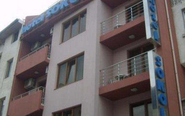 Отель Sokol Hotel Болгария, Сандански - отзывы, цены и фото номеров - забронировать отель Sokol Hotel онлайн вид на фасад