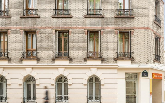 Отель Aparthotel Adagio access Paris Philippe Auguste Франция, Париж - отзывы, цены и фото номеров - забронировать отель Aparthotel Adagio access Paris Philippe Auguste онлайн вид на фасад