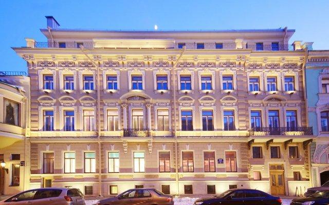 Отель Домина Санкт-Петербург вид на фасад