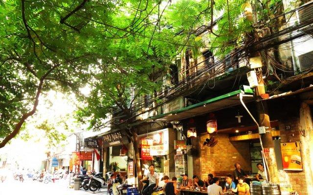 Hanoi Golden Hotel вид на фасад