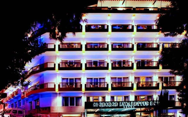 St George Lycabettus Hotel вид на фасад