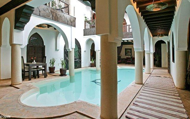 Отель Riad Opale Марокко, Марракеш - отзывы, цены и фото номеров - забронировать отель Riad Opale онлайн вид на фасад