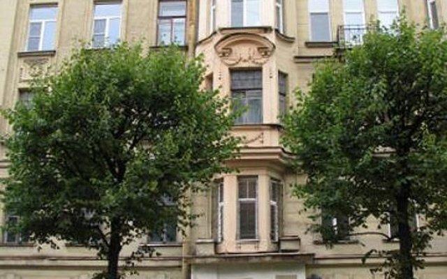 Отель Атмосфера на Петроградской Санкт-Петербург вид на фасад