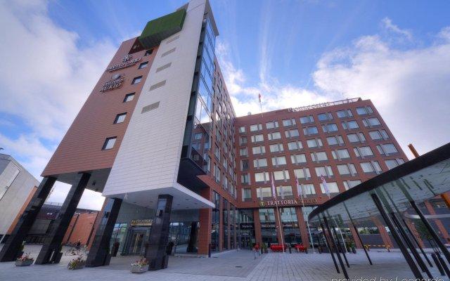 Отель Solo Sokos Paviljonki Ювяскюля вид на фасад