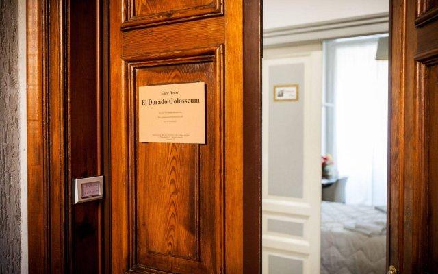 Отель El Dorado Colosseum Италия, Рим - 4 отзыва об отеле, цены и фото номеров - забронировать отель El Dorado Colosseum онлайн вид на фасад