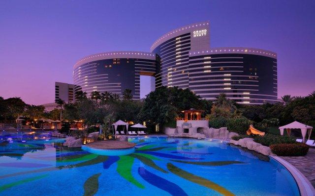 Отель Grand Hyatt Dubai Дубай вид на фасад