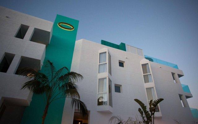 Отель Dorado Ibiza Suites - Adults Only Испания, Сант Джордин де Сес Салинес - отзывы, цены и фото номеров - забронировать отель Dorado Ibiza Suites - Adults Only онлайн вид на фасад