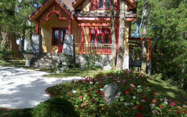 Отель Dreaming Hill Resort Далат вид на фасад