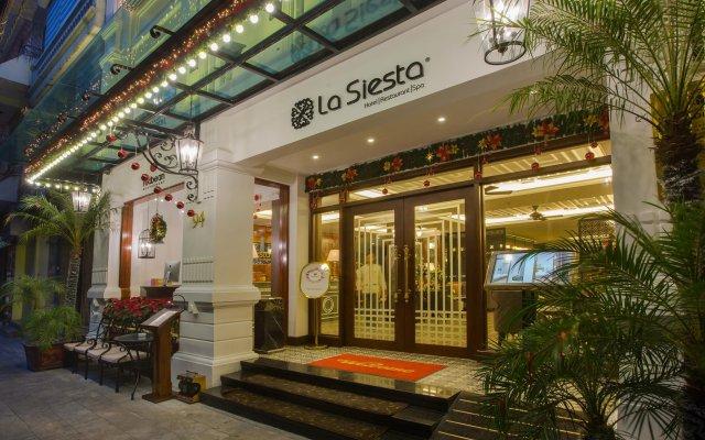 Hanoi La Siesta Hotel & Spa вид на фасад