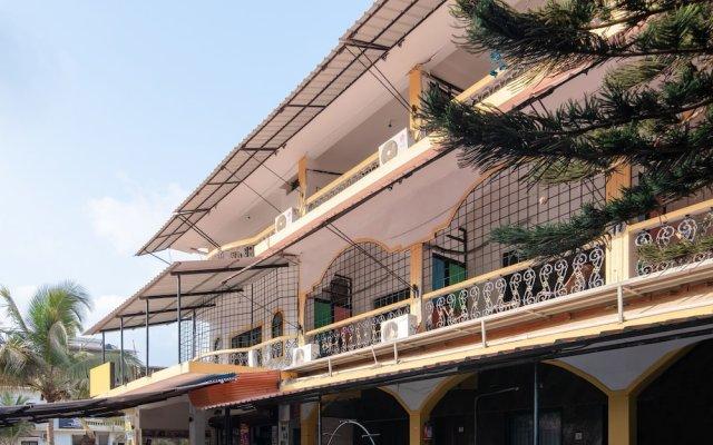 Отель OYO 37259 Deodita's Guest House Гоа вид на фасад