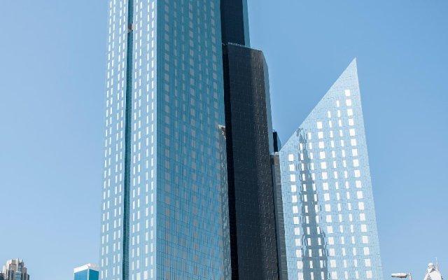 Апартаменты Dream Inn - CentralPark Tower 2BR Duplex Apartment вид на фасад