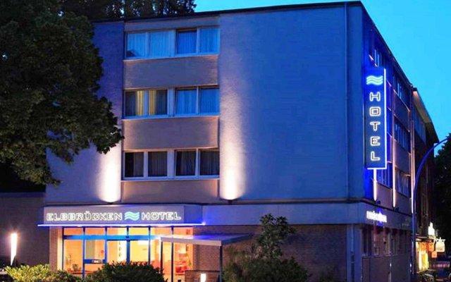 Elbbrücken Hotel вид на фасад