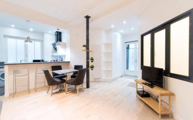 Отель Apart Inn Paris - Quincampoix Франция, Париж - отзывы, цены и фото номеров - забронировать отель Apart Inn Paris - Quincampoix онлайн комната для гостей