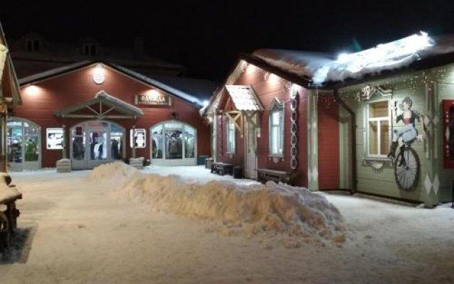 Гостиница Звенигород вид на фасад