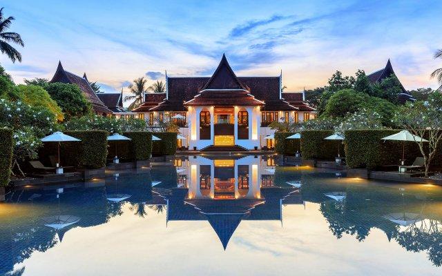 Отель JW Marriott Khao Lak Resort and Spa вид на фасад