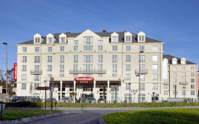 Отель Residhome Roissy-Park вид на фасад