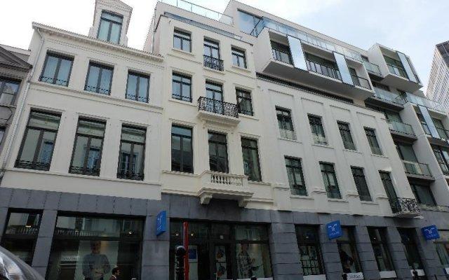 Отель La Monnaie Residence Бельгия, Брюссель - отзывы, цены и фото номеров - забронировать отель La Monnaie Residence онлайн вид на фасад