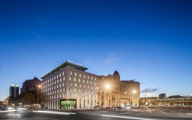 Hotel 3K Europa вид на фасад