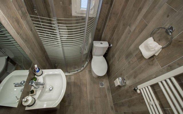 Отель InCity SeaView Suites 1 Греция, Салоники - отзывы, цены и фото номеров - забронировать отель InCity SeaView Suites 1 онлайн ванная