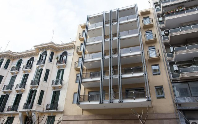 Апартаменты Polis Apartments вид на фасад