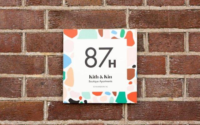 Отель Kith & Kin Boutique Apartments Нидерланды, Амстердам - отзывы, цены и фото номеров - забронировать отель Kith & Kin Boutique Apartments онлайн вид на фасад