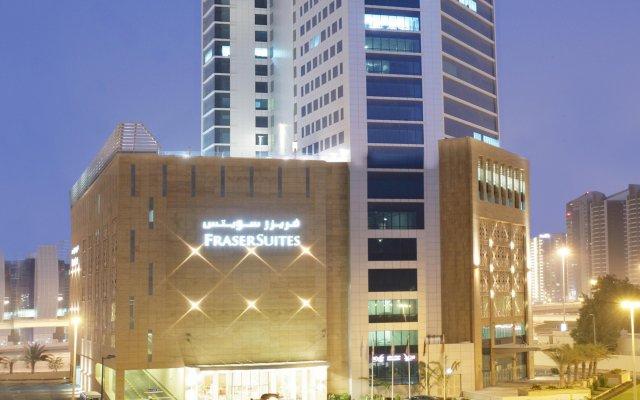 Отель Fraser Suites Dubai Дубай вид на фасад