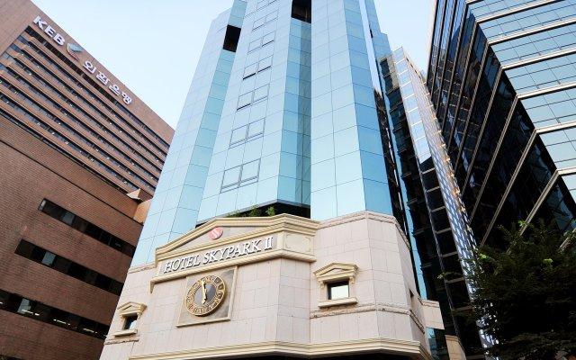 Отель SKYPARK Myeongdong II Южная Корея, Сеул - 1 отзыв об отеле, цены и фото номеров - забронировать отель SKYPARK Myeongdong II онлайн вид на фасад
