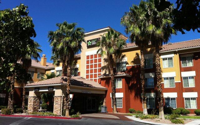 Отель Extended Stay America - Las Vegas - Midtown вид на фасад