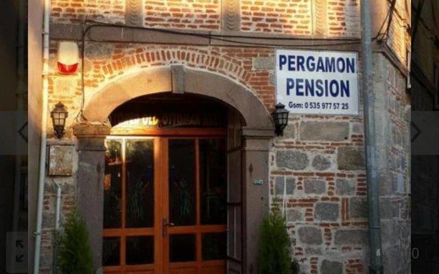 Pergamon Pension Турция, Дикили - отзывы, цены и фото номеров - забронировать отель Pergamon Pension онлайн вид на фасад