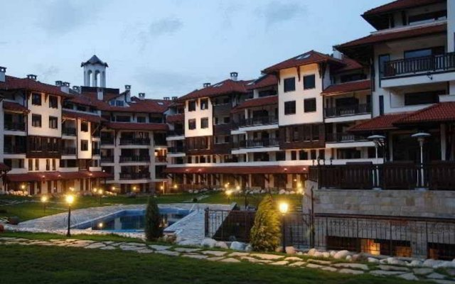Апартаменты Bansko Royal Towers Apartments вид на фасад
