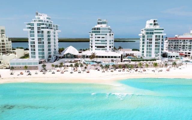 Отель Oleo Cancun Playa All Inclusive Boutique Resort пляж