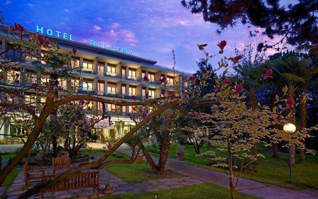 Отель Bologna Terme Италия, Абано-Терме - отзывы, цены и фото номеров - забронировать отель Bologna Terme онлайн вид на фасад
